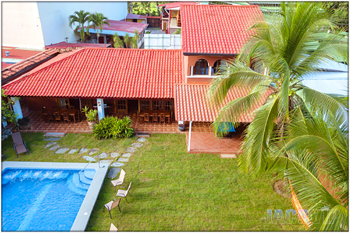 aerial view of Casa Cinco