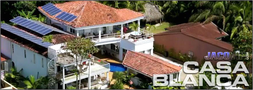 Sky View Of Casa Blanca Beach House Al In Jaco Costa Rica