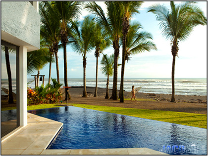 Hermosa beach vacation rentals with jaco vip casa del for Costa rica house rental