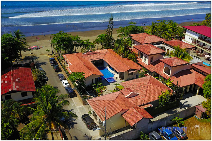 Drone Photo of Casa Ponte Beach House