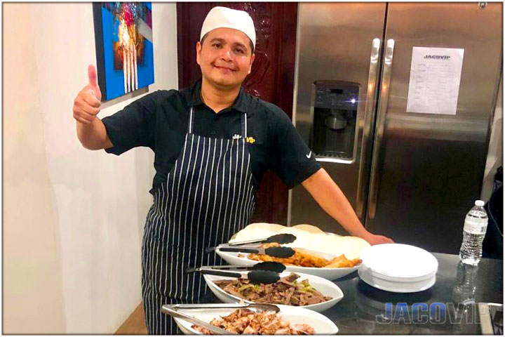Professional Chef Services in Jaco Beach
