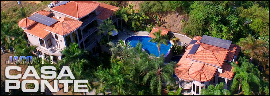 Jaco vip casa ponte mansion estate vacation house rental for Vacation homes for rent in costa rica