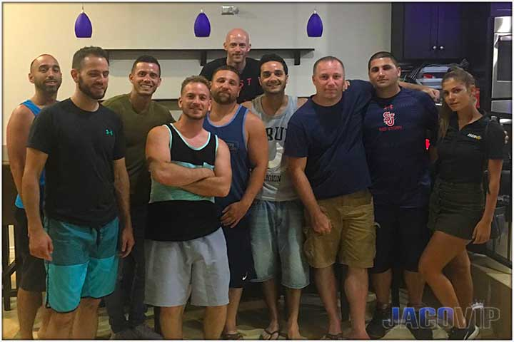 Bachelor Party Group with Concierge