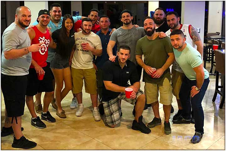 Bachelor Party Group at Casa Ponte 2