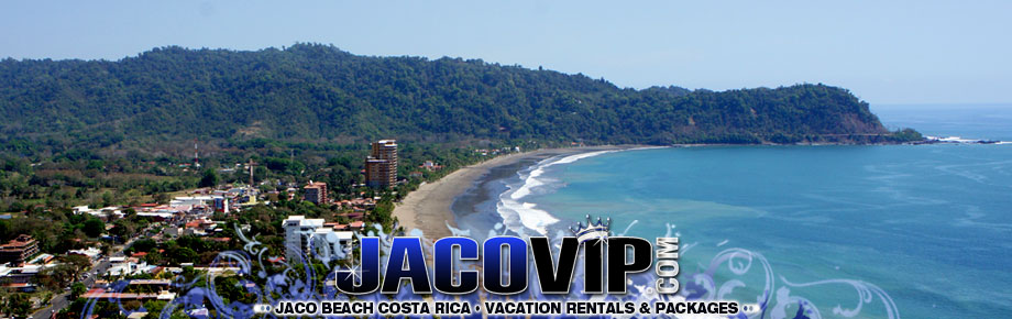 Sky View Of Jaco Beach Costa Rica