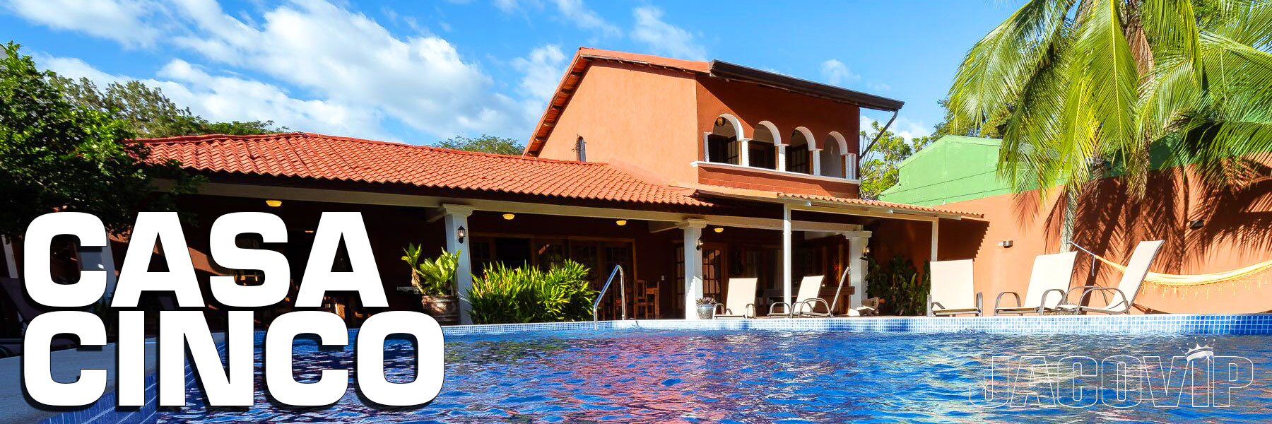 Casa Cinco Vacation House Rental in Jaco Beach Costa Rica