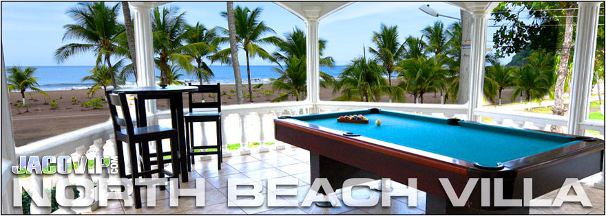 Swimming Pool And Jacuzzi At Blue Macaw Vacation Al On Jaco Beach