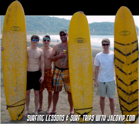 Surf Lessons in Jaco Beach, Costa Rica