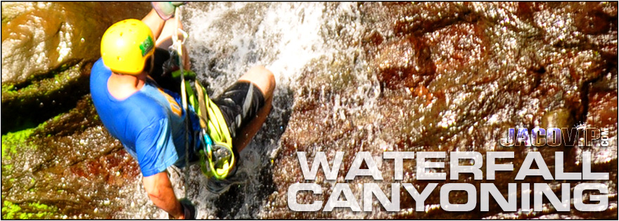 Jaco Waterfall Canyoning and Rappeling Tours
