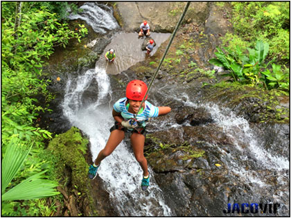Jaco Canyoning and Rappeling