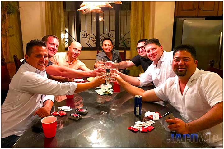 Jaco VIP Bachelor Party Group
