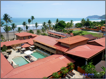View Of Cocal Hotel Pool Bar And Jaco Beach