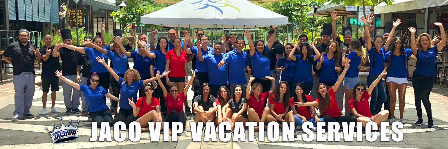 Jaco VIP Vacation Services Staff for All Inclusive Packages in Costa Rica